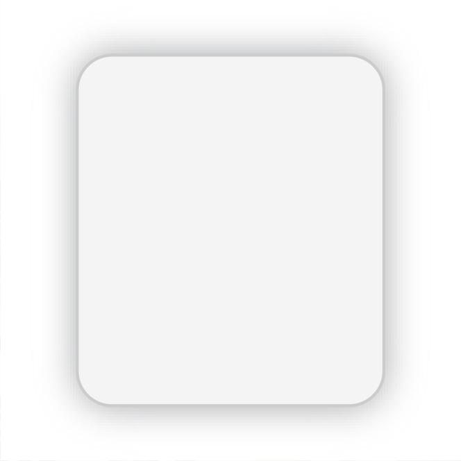 Glanzend wit papier permanent