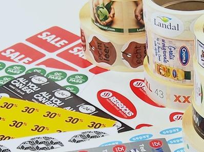 Voedselveilige  etiketten